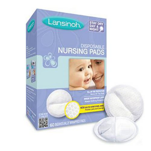 Lansinoh, Disposable Nursing Pads, 60 Individually Wrapped Pads Review