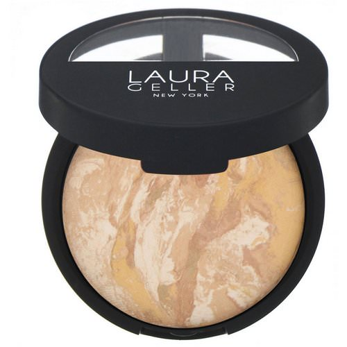 Laura Geller, Baked Balance-N-Brighten, Color Correcting Foundation, Light, 0.32 oz (9 g) Review