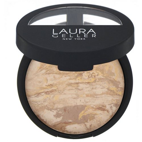 Laura Geller, Baked Balance-N-Brighten, Color Correcting Foundation, Medium, 0.32 oz (9 g) Review