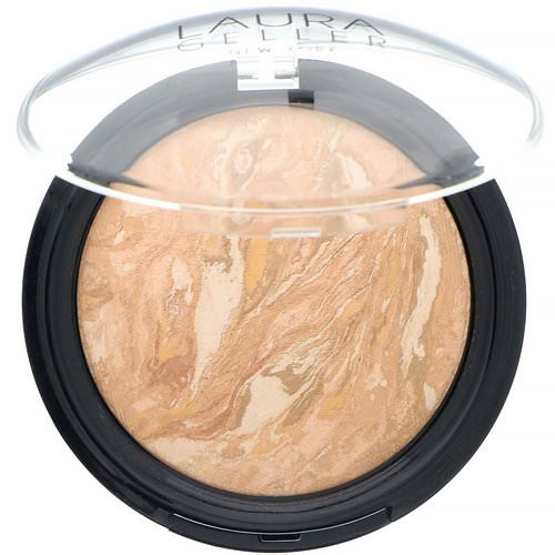 Laura Geller, Baked Balance-N-Glow, Illuminating Foundation, Light, 0.28 oz (8 g) Review
