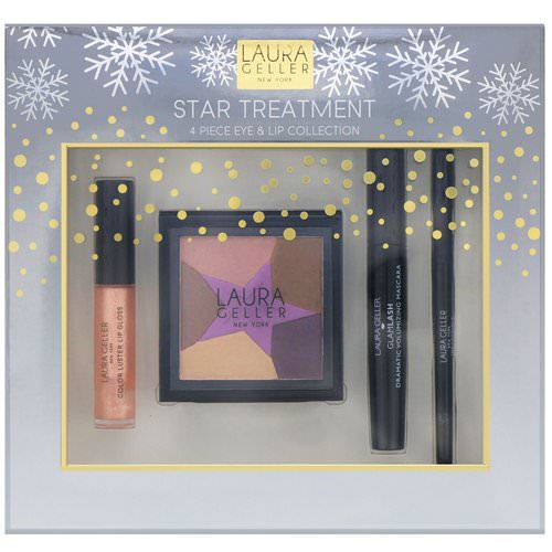 Laura Geller, Star Treatment, 4 Piece Eye & Lip Collection Review