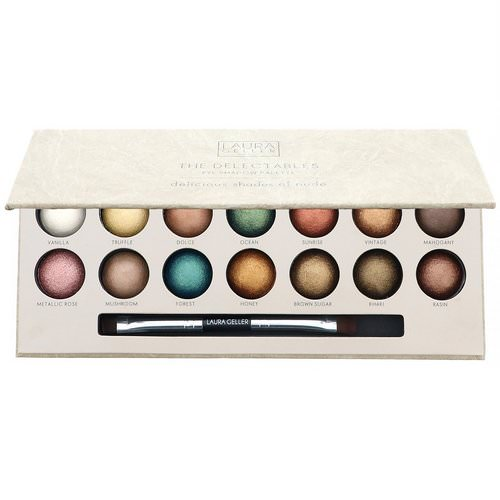 Laura Geller, The Delectables Eye Shadow Palette, Delicious Shades of Nude, 14 Well Palette Review