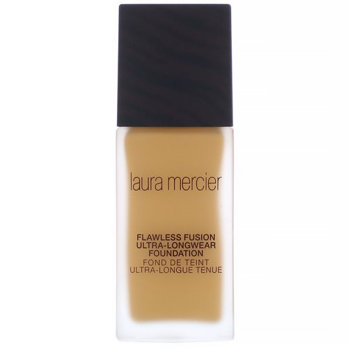 Laura Mercier, Flawless Fusion, Ultra-Longwear Foundation, 5W1 Amber, 1 fl oz (30 ml) Review
