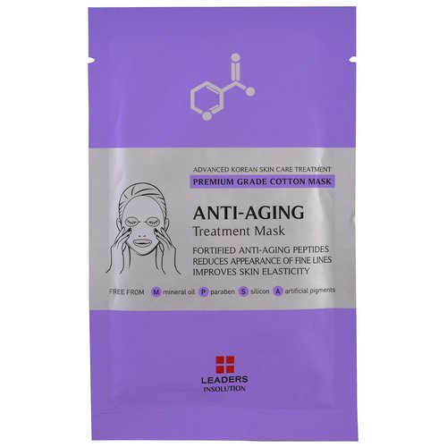 Leaders, Anti-Aging Treatment Mask, 1 Mask Review