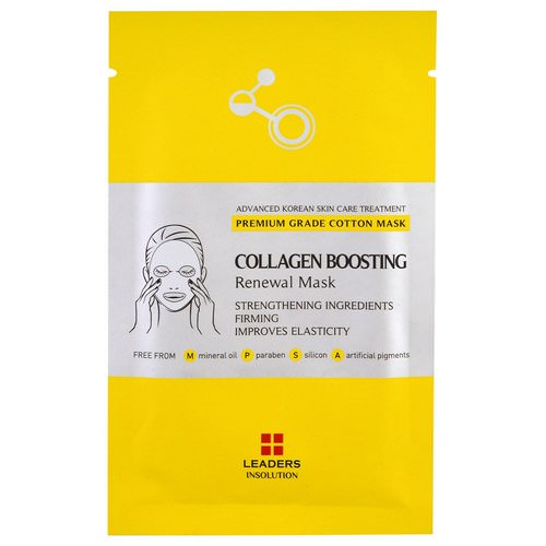 Leaders, Collagen Boosting Renewal Mask, 1 Mask Review