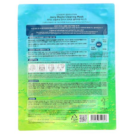 Treatment Masks, K-Beauty Face Masks, Peels, Face Masks, Beauty