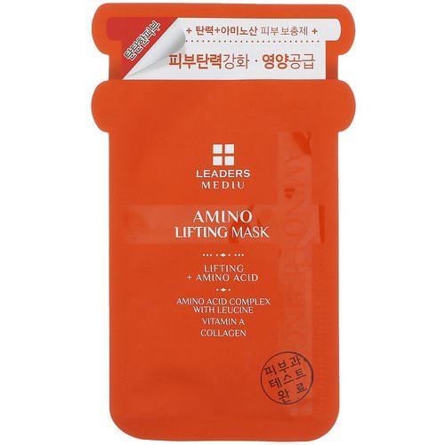 Leaders, Mediu, Amino Lifting Mask, 1 Mask, 25 ml Review