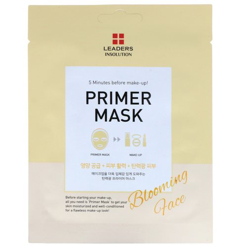 Leaders, Primer Mask, Blooming Face, 1 Mask, 0.84 fl oz (25 ml) Review