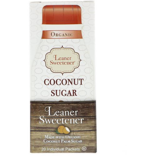 Leaner Creamer, Organic, Coconut Sugar, 20 Individual Packets, 0.14 oz (4 g) Each Review
