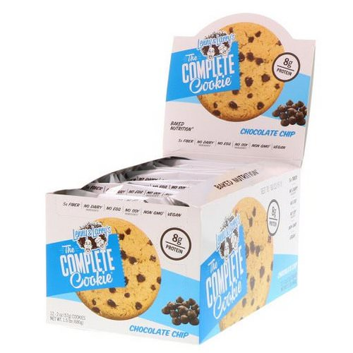 Lenny & Larry's, The Complete Cookie, Chocolate Chip, 12 Cookies, 2 oz (57 g) Each Review