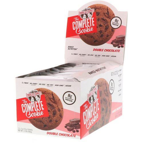 Lenny & Larry's, The Complete Cookie, Double Chocolate, 12 Cookies, 2 oz (57 g) Each Review