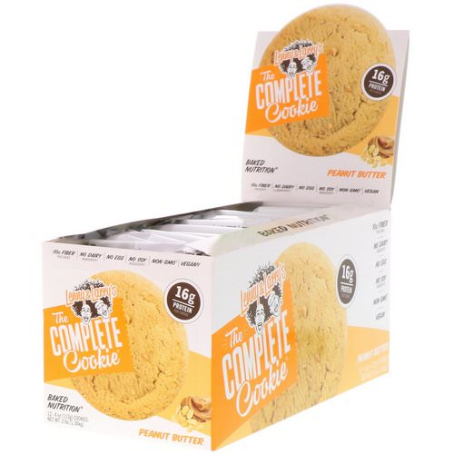 Lenny & Larry's, The Complete Cookie, Peanut Butter, 12 Cookies, 4 oz (113 g) Each Review
