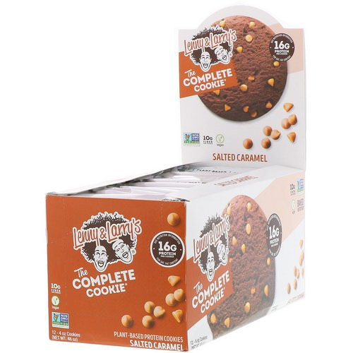 Lenny & Larry's, The Complete Cookie, Salted Caramel, 12 Cookies, 4 oz (113 g) Each Review