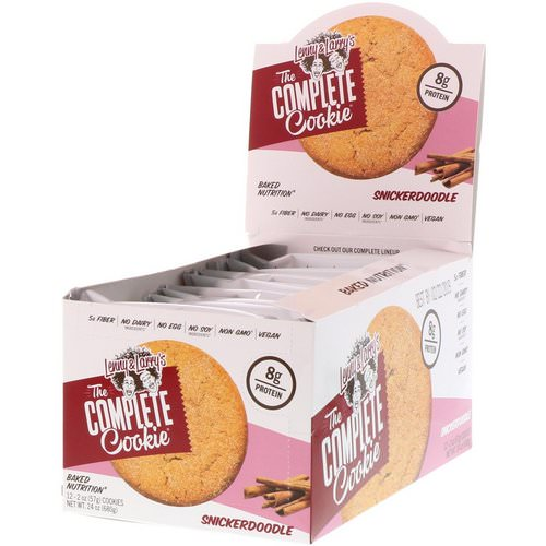 Lenny & Larry's, The Complete Cookie Snickerdoodle, 12 Cookies, 2 oz (57 g) Each Review