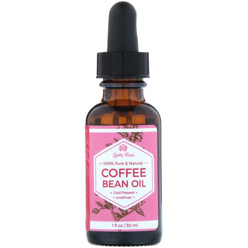 Leven Rose, 100% Pure & Natural, Coffee Bean Oil, 1 fl oz (30 ml) Review