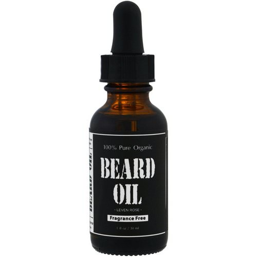 Leven Rose, 100% Pure Organic Beard Oil, Fragrance Free, 1 fl oz (30 ml) Review