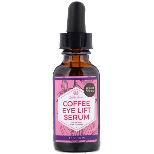 Leven Rose, Coffee Eye Lift Serum, 1 fl oz (30 ml) Review