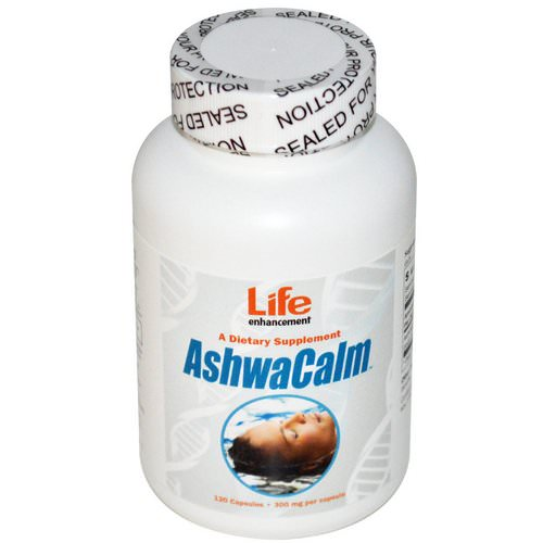 Life Enhancement, AshwaCalm, 300 mg, 120 Capsules Review