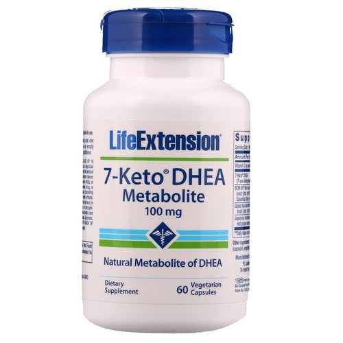 Life Extension, 7-Keto DHEA, Metabolite, 100 mg, 60 Vegetarian Capsules Review