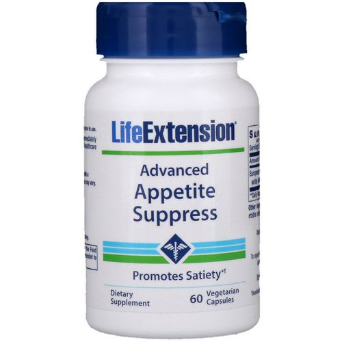 Life Extension, Advanced Appetite Suppress, 60 Vegetarian Capsules Review