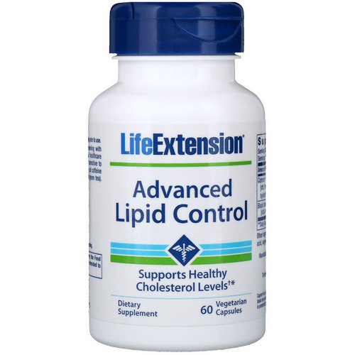Life Extension, Advanced Lipid Control, 60 Vegetable Capsules Review