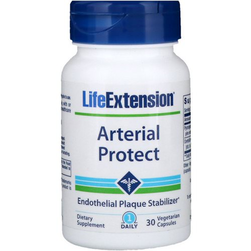 Life Extension, Arterial Protect, 30 Vegetarian Capsules Review