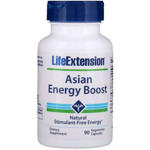 Life Extension, Asian Energy Boost, 90 Vegetarian Capsules Review