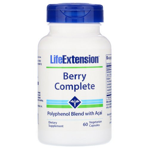 Life Extension, Berry Complete, 60 Vegetarian Capsules Review