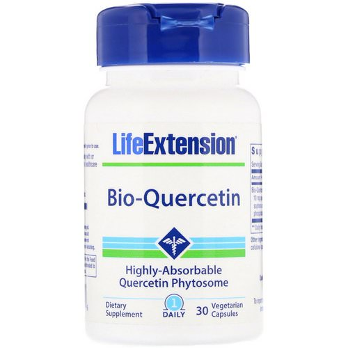Life Extension, Bio-Quercetin, 30 Vegetarian Capsules Review