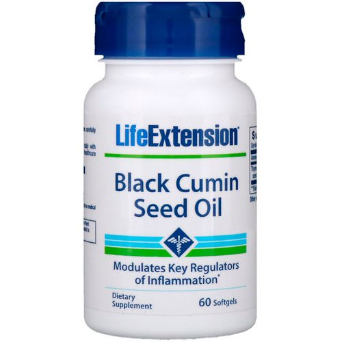 Life Extension, Black Cumin Seed Oil, 60 Softgels Review