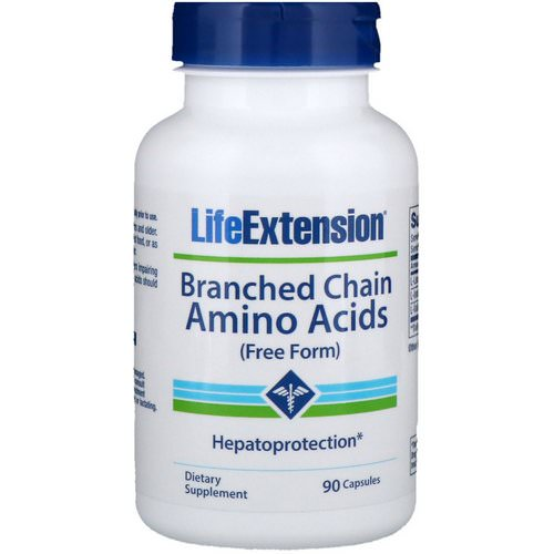Life Extension, Branched Chain Amino Acids, 90 Capsules Review
