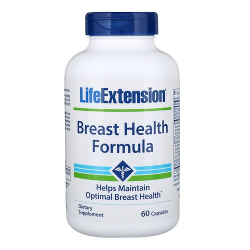 Life Extension, Breast Health Formula, 60 Capsules Review