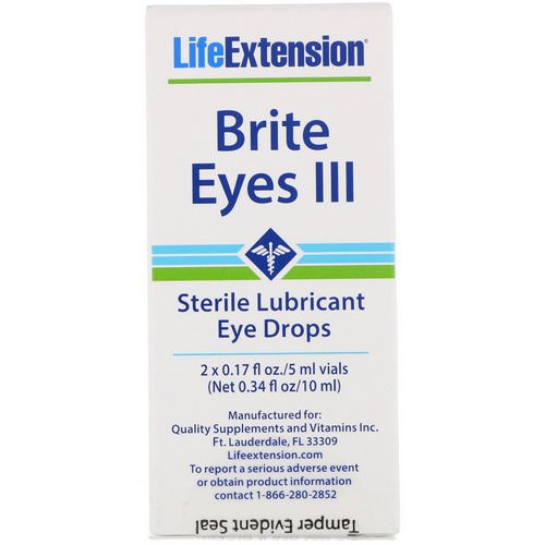 Life Extension, Brite Eyes III, 2 Vials, 5 ml Each Review