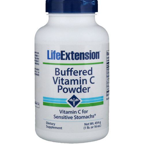 Life Extension, Buffered Vitamin C Powder, 16 oz (454 g) Review