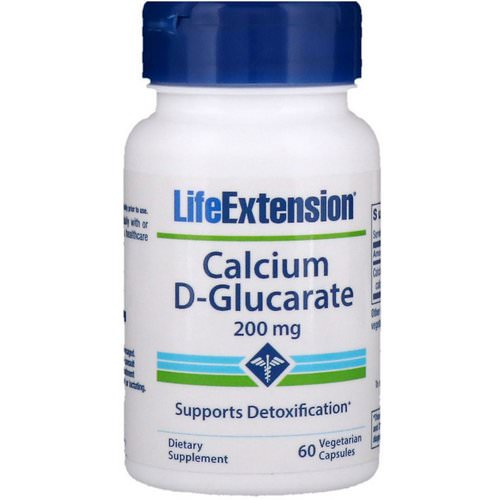 Life Extension, Calcium D-Glucarate, 200 mg, 60 Vegetable Capsules Review