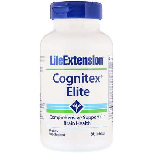 Life Extension, Cognitex Elite, 60 Tablets Review