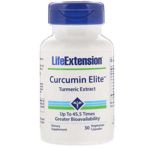 Life Extension, Curcumin Elite, Turmeric Extract, 30 Vegetarian Capsules Review