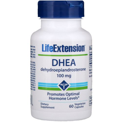 Life Extension, DHEA, 100 mg, 60 Vegetarian Capsules Review