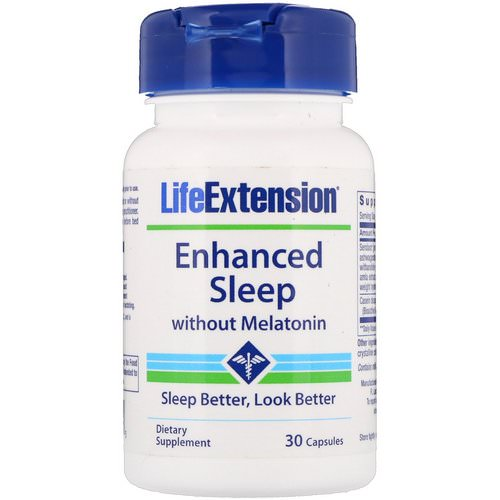 Life Extension, Enhanced Sleep without Melatonin, 30 Capsules Review