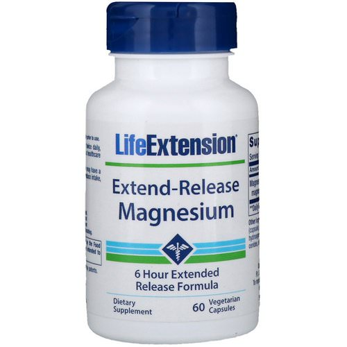 Life Extension, Extend-Release Magnesium, 60 Vegetarian Capsules Review