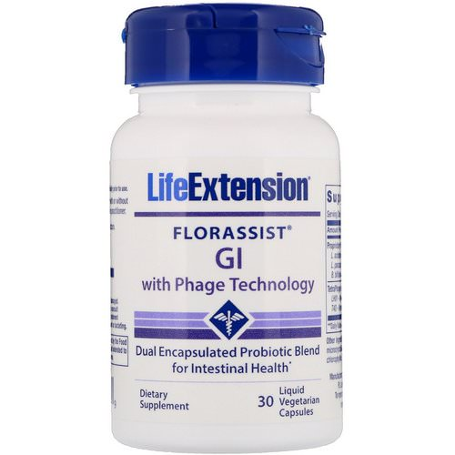 Life Extension, Florassist GI with Phage Technology, 30 Liquid Vegetarian Capsules Review
