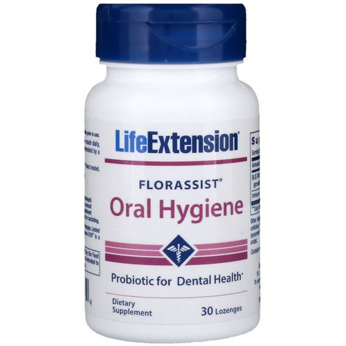 Life Extension, Florassist Oral Hygiene, 30 Lozenges Review