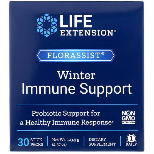 Life Extension, Florassist Winter Immune Support, 30 Stick Packs Review