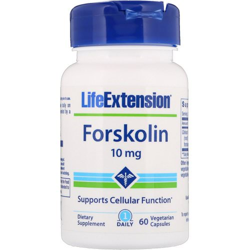 Life Extension, Forskolin, 10 mg, 60 Vegetarian Capsules Review