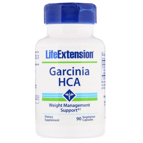Life Extension, Garcinia HCA, 90 Vegetarian Capsules Review