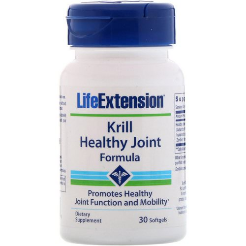 Life Extension, Krill Healthy Joint Formula, 30 Softgels Review