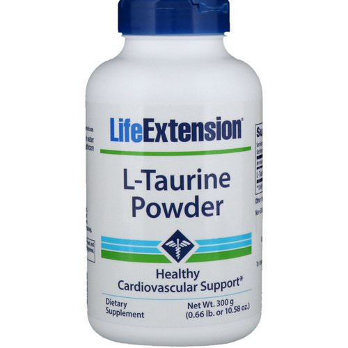 Life Extension, L-Taurine Powder, 10.58 oz (300 g) Review