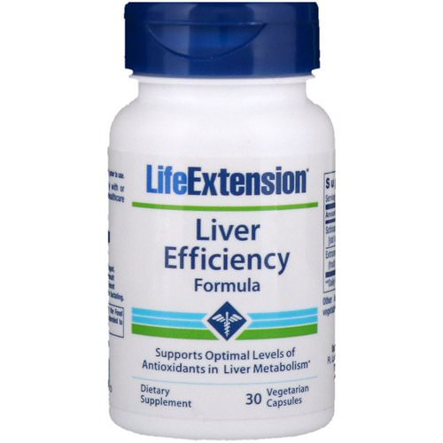 Life Extension, Liver Efficiency Formula, 30 Vegetarian Capsules Review