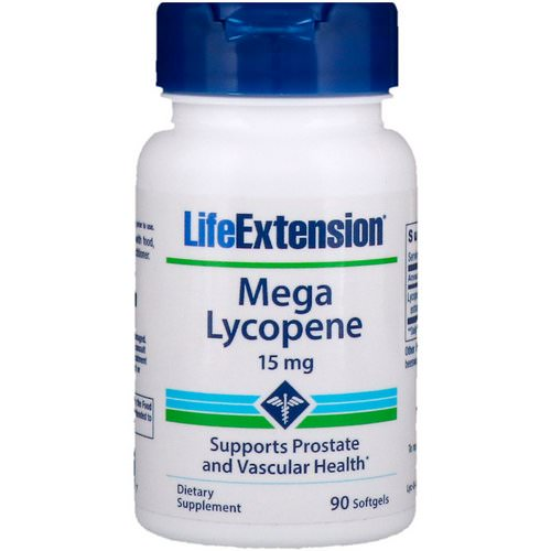 Life Extension, Mega Lycopene, 15 mg, 90 Softgels Review