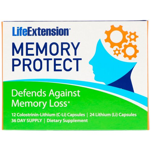 Life Extension, Memory Protect, 36 Capsules Review